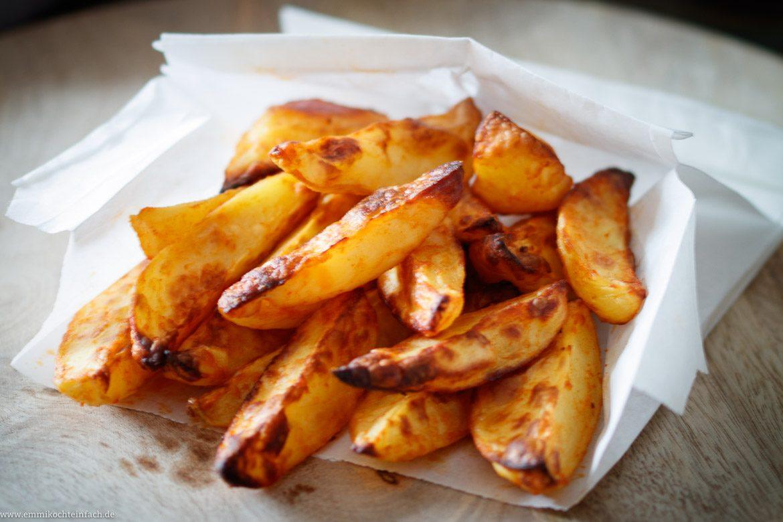 Knusprige Ofenkartoffeln Die Wedges Form Emmikochteinfach