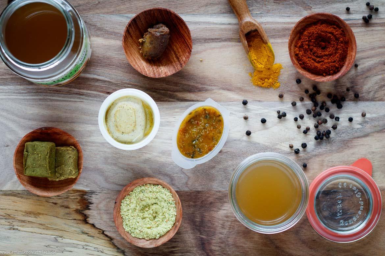 12 einfache Tipps um besser und einfacher zu kochen mit Gewürze, schmackhafte Fonds und Brühen - www.emmikochteinfach.de