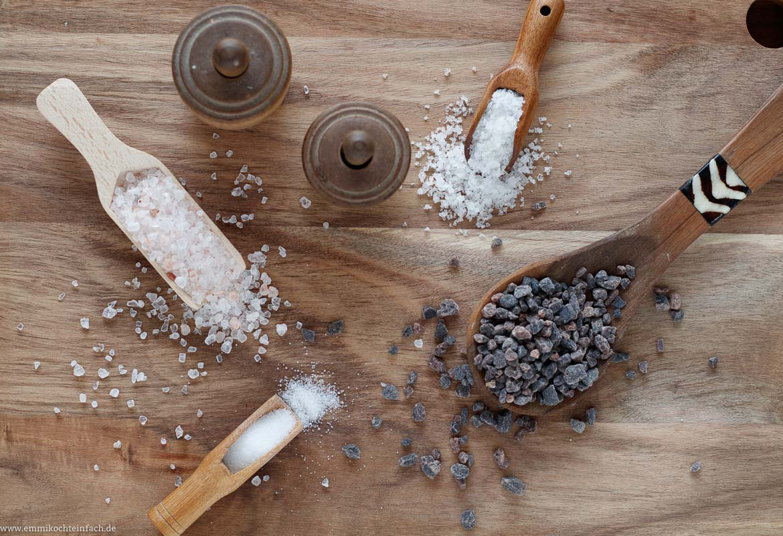 12 einfache Tipps um besser und einfacher zu kochen - Salz ist nicht gleich Salz - www.emmikochteinfach.de