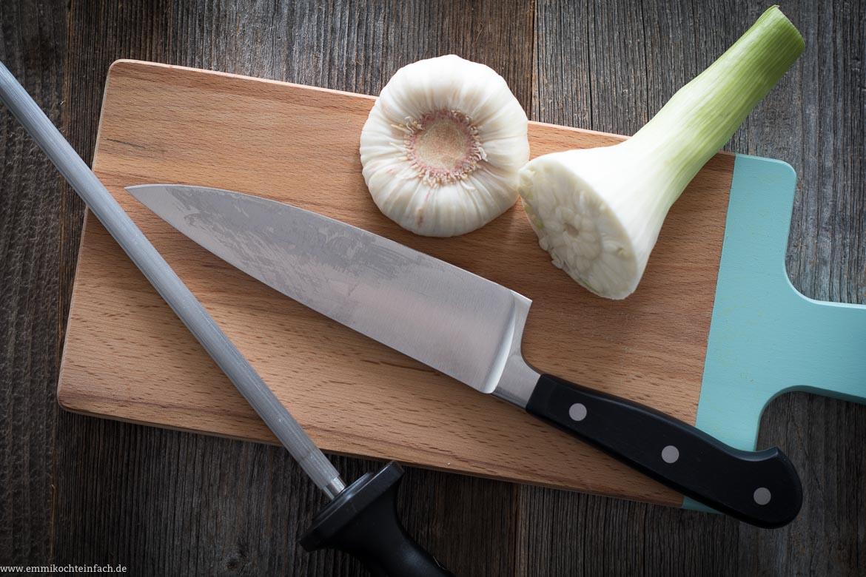 Das perfekte Kochmesser - www.emmikochteinfach.de