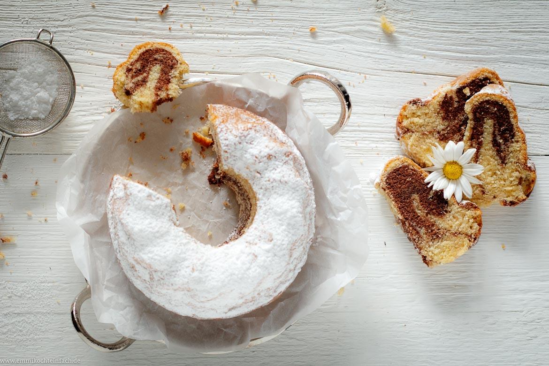 Mini Marmorkuchen Mit Ganz Viel Liebe Emmikochteinfach