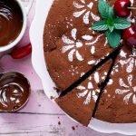 Schokoladenkuchen mit Kirschen und Chili - www.emmikochteinfach.de