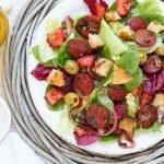 Spanischer Salat mit Chorizo - www.emmikochteinfach.de