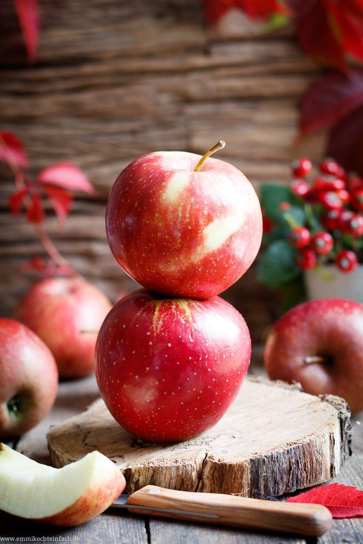 Frische Äpfel sind die Hauptzutat - www.emmikochteinfach.de