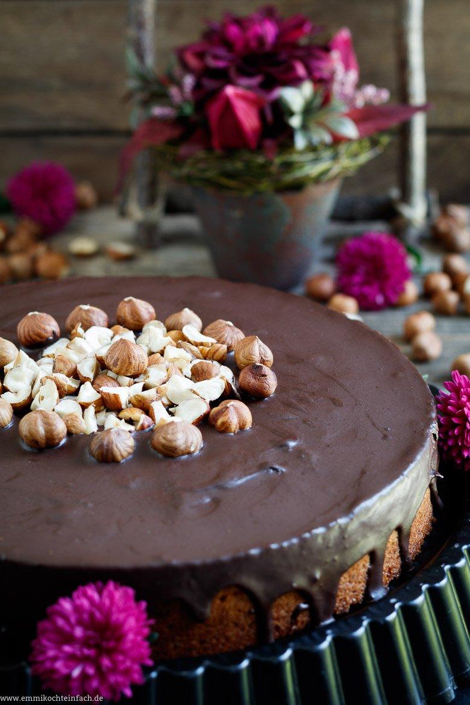 Haselnuss und Schokolade sind ein köstliches Duo - www.emmikochteinfach.de