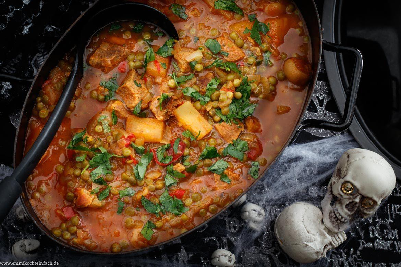 Die unkomplizierte Suppe aus dem Ofen für Deine Gäste - www.emmikochteinfach.de