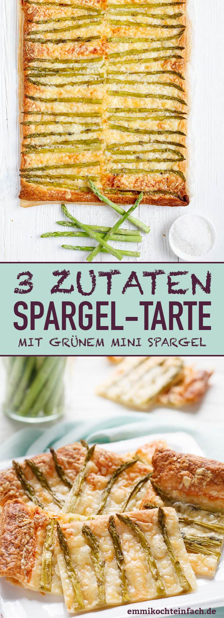 3-Zutaten-Spargeltarte - www.emmikochteinfach.de