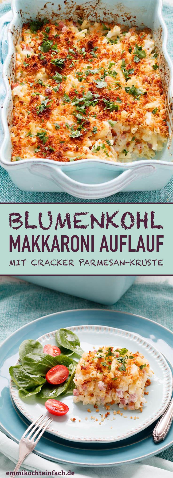 Blumenkohl Makkaroni Auflauf - www.emmikochteinfach.de