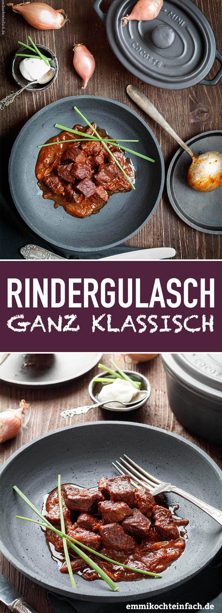 Klassisches Rindergulasch - www.emmikochteinfach.de