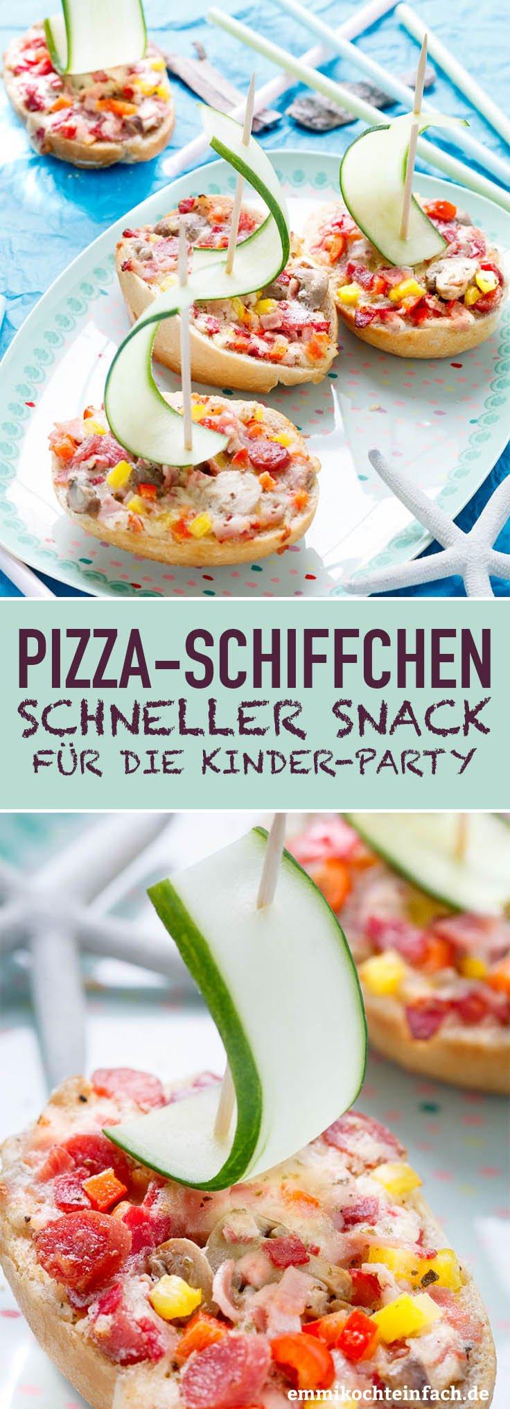 Pizza-Schiffchen - www.emmikochteinfach.de
