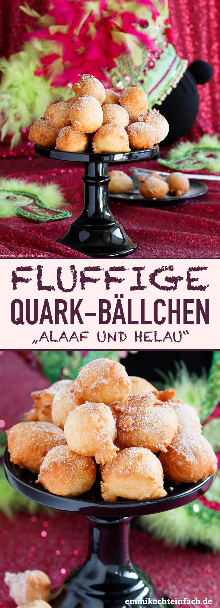 Quarkbällchen - www.emmikochteinfach.de