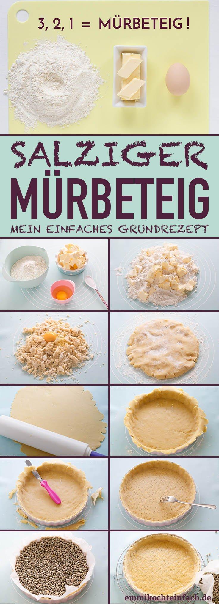 Salziger Mürbeteig - www.emmikochteinfach.de