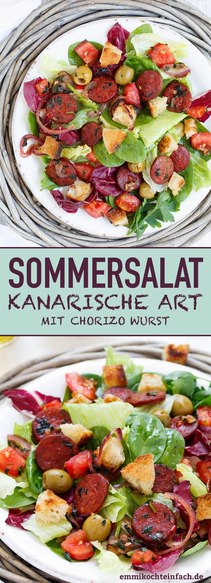Kanarischer Sommersalat - www.emmikochteinfach.de