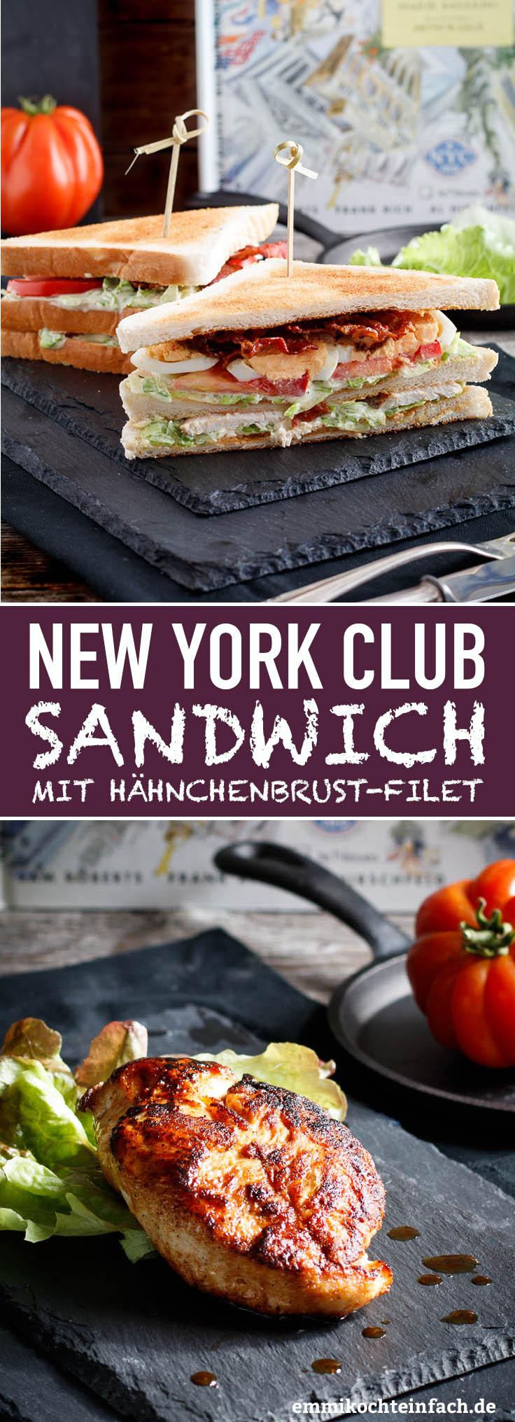 NYork Club Sandwich - www.emmikochteinfach.de