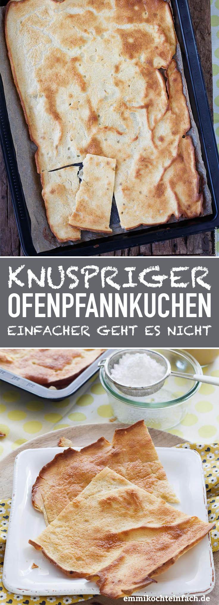 Knuspriger Ofenpfannkuchen - www.emmikochteinfach.de