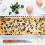 Quicheliebe mit Schinken, Champignons und Mozzarella - www.emmikochteinfach.de