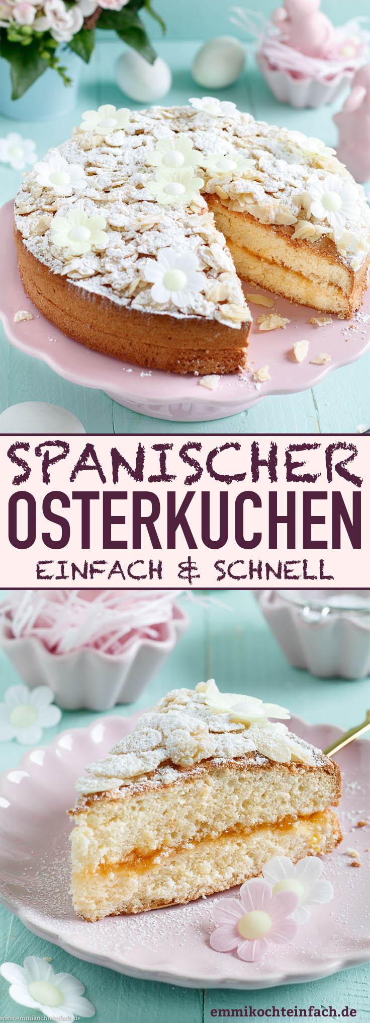 Spanischer Osterkuchen - www.emmikochteinfach.de