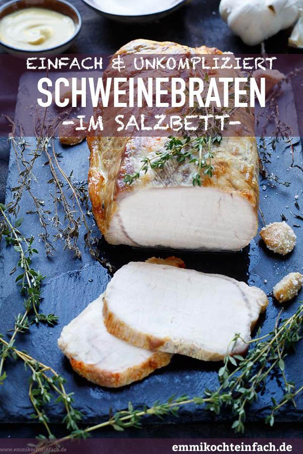 Ein sehr unkomplizierter Braten - www.emmikochteinfach.de