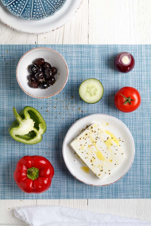 Mit wenigen Zutaten zum leckeren Salat - www.emmikochteinfach.de