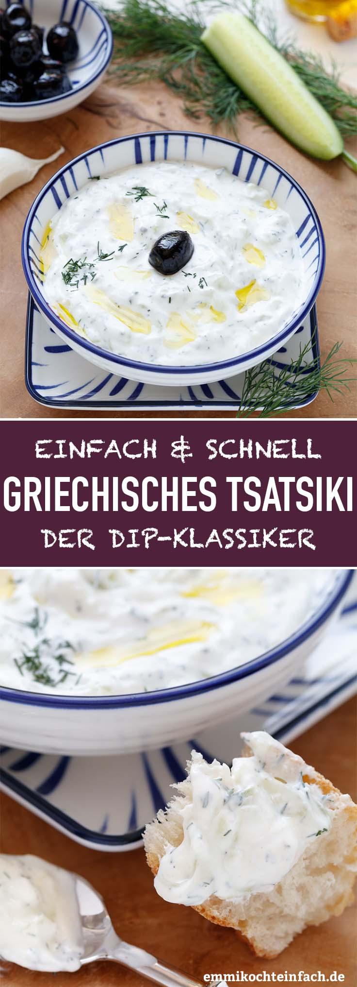 Griechisches Tsatsiki - www.emmikochteinfach.de
