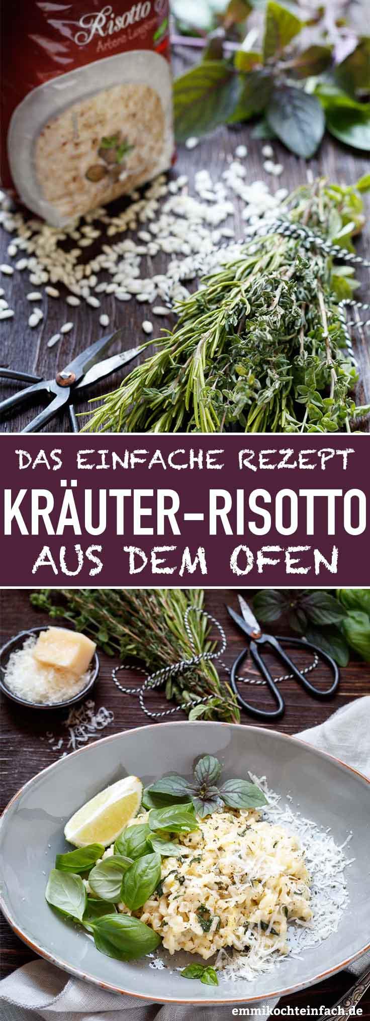 Kräuter-Risotto aus dem Ofen - www.emmikochteinfach.de