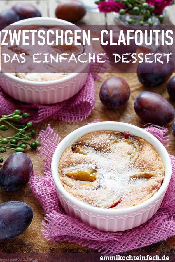 Zwetschgen Clafoutis - www.emmikochteinfach.de