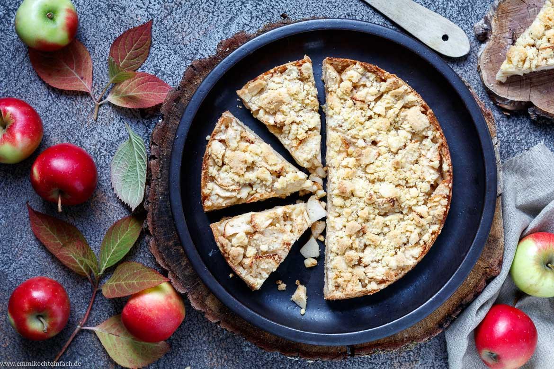 Streuselboden Kuchen Mit Apfel Emmikochteinfach