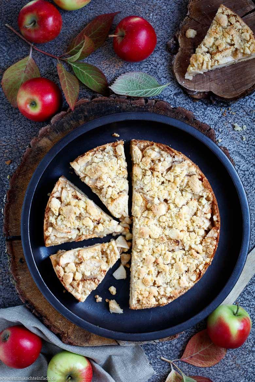 Ein einfacher Apfel Streuselkuchen- www.emmikochteinfach.de