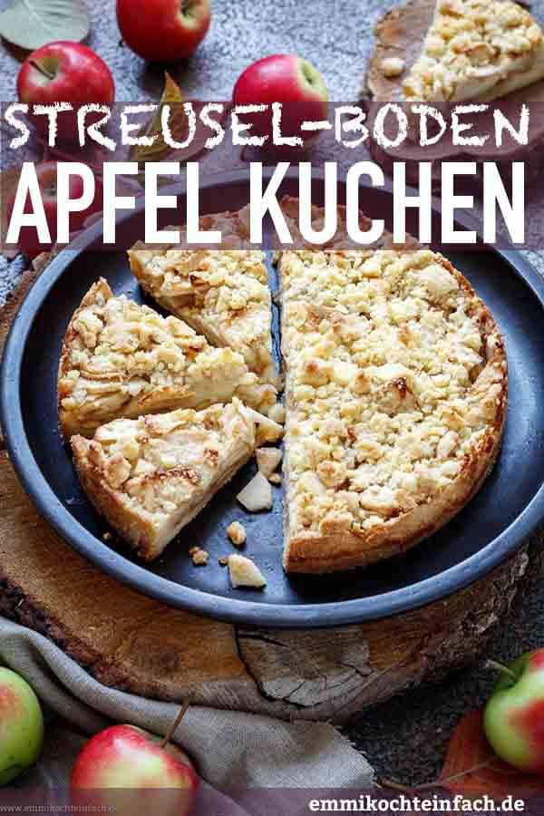 Der einfache Apfelkuchen - www.emmikochteinfach.de