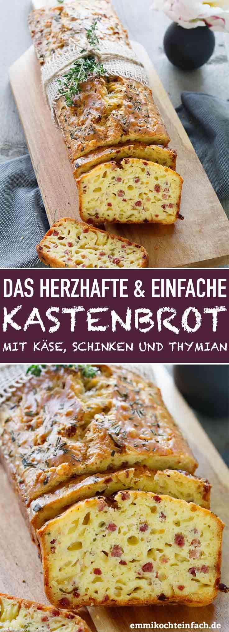 Herzhaftes Kastenbrot - www.emmikochteinfach.de