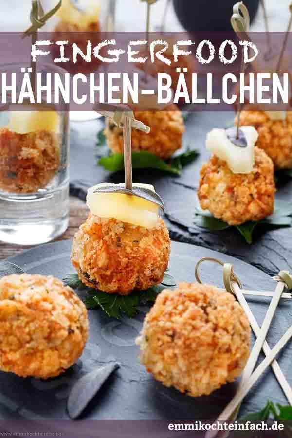Curry Hähnchenbällchen mit Ananas und Salbei - www.emmikochteinfach.de