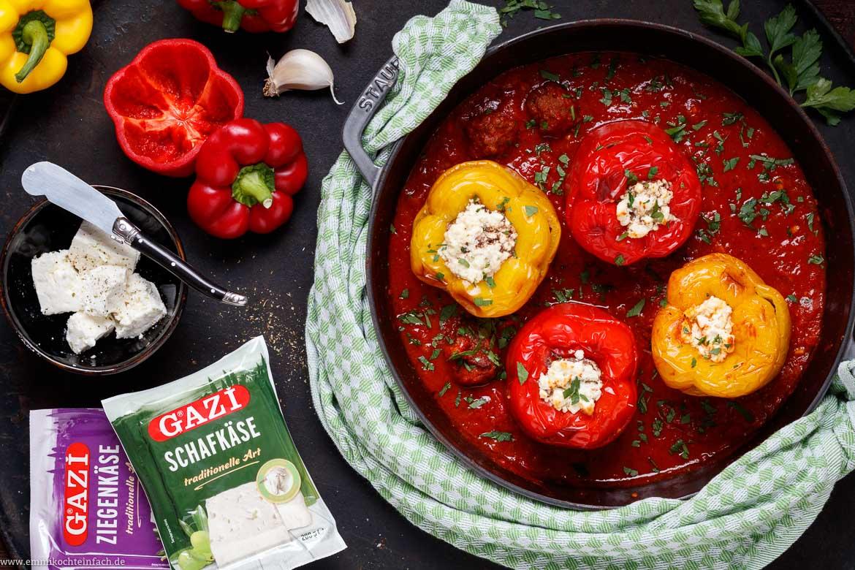 Rezepte mit hackfleisch gefullte paprika