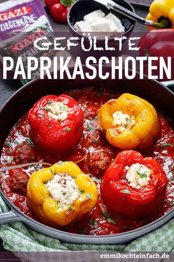 Das Ofen Hackfleisch Gericht mediterran - www.emmikochteinfach.de
