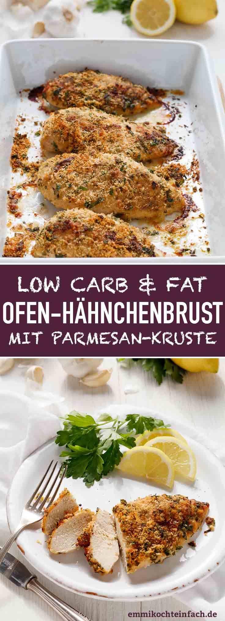 Hähnchenbrustfilet mit Parmesan Kruste - www.emmikochteinfach.de