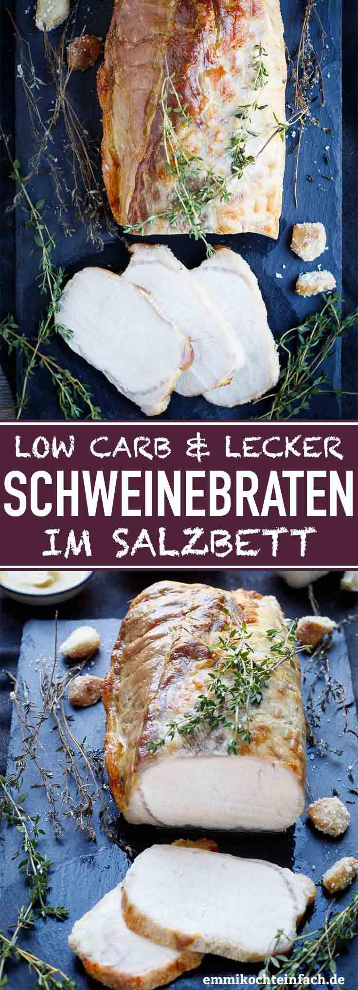 Schweinebraten im Salzbett - www.emmikochteinfach.de