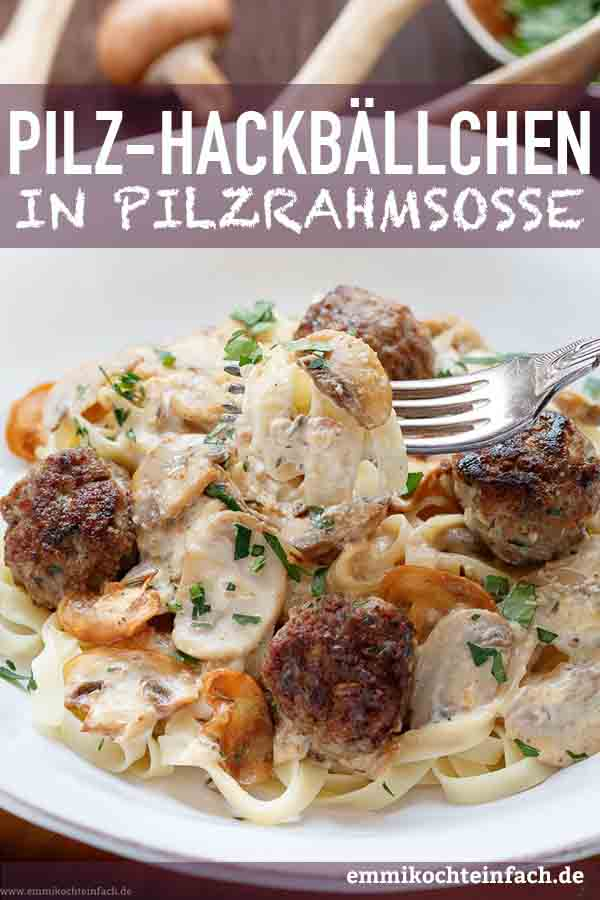 Pasta mit leckerer Rahmsosse - www.emmikochteinfach.de