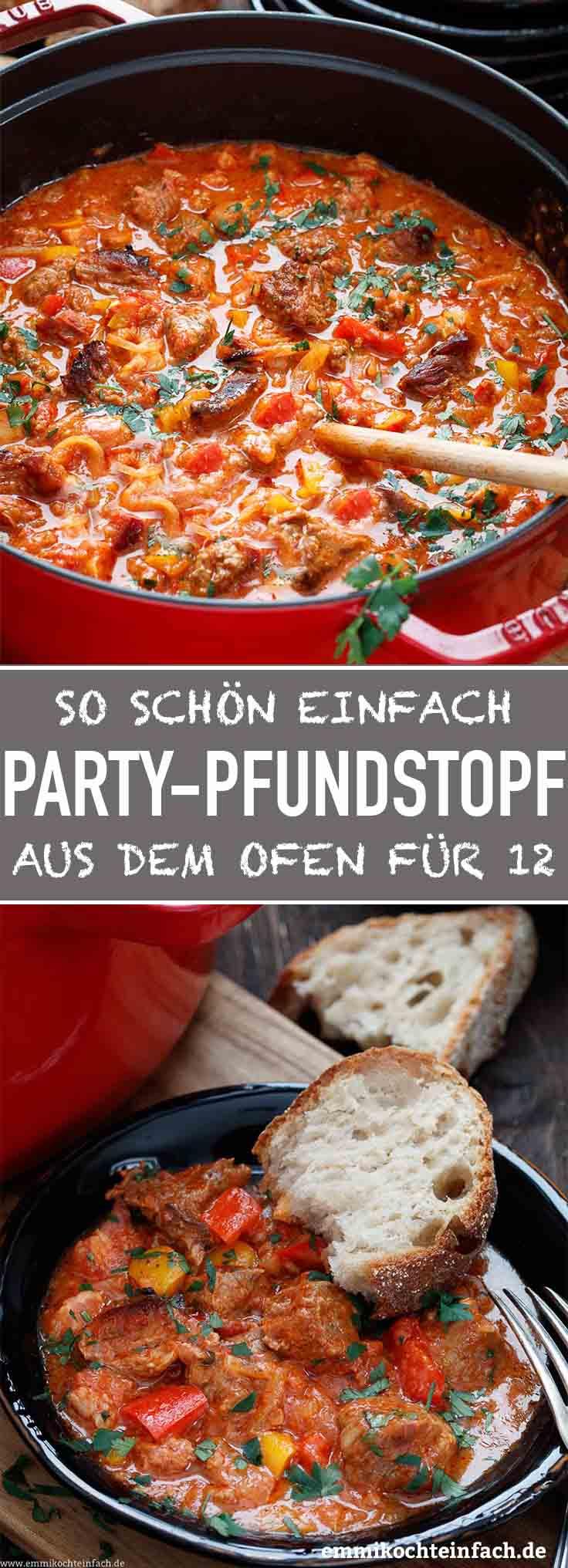 Party Pfundstopf für zwölf - www.emmikochteinfach.de