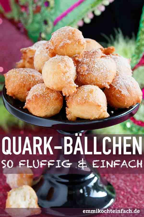 Fluffige Quarkbällchen - www.emmikochteinfach.de