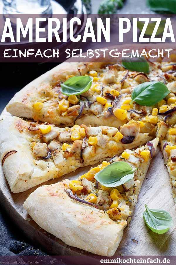 Knusprig lecker mit Hühnchen, Zwiebeln und Mais - www.emmikochteinfach.de