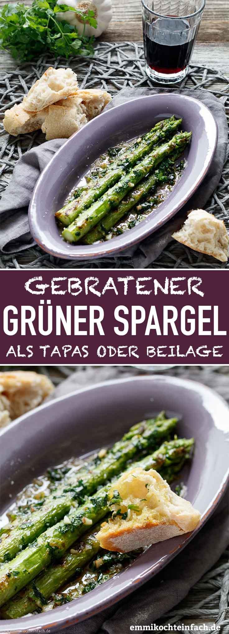 Gebratener grüner Tapas Spargel - www.emmikochteinfach.de