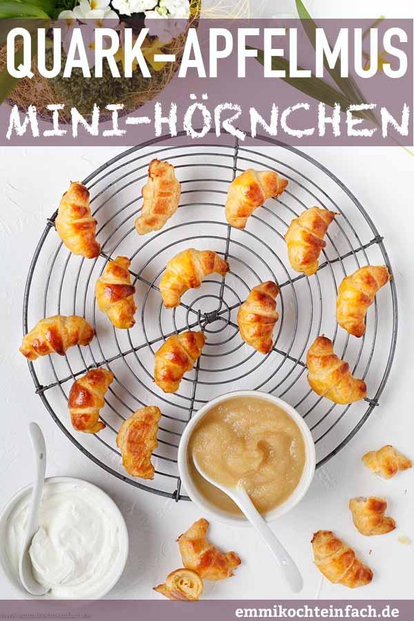 Fruchtige Apfelmushörnchen - www.emmikochteinfach.de