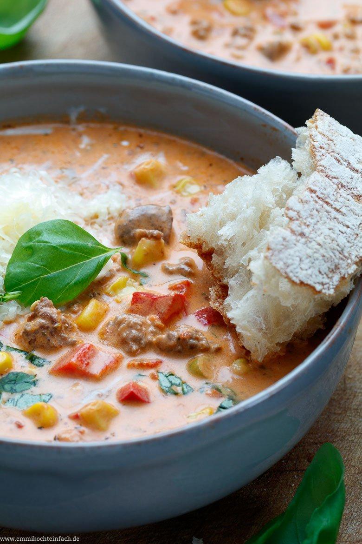 Eine gesunde Suppe zum tunken - www.emmikochteinfach.de