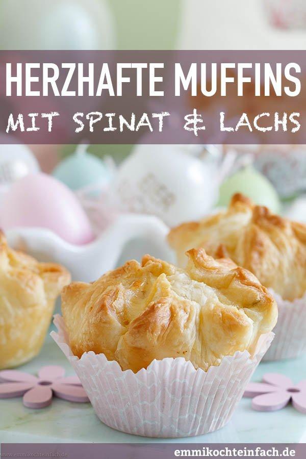 Blätterteig mit Spinat und Räucherlachs - www.emmikochteinfach.de