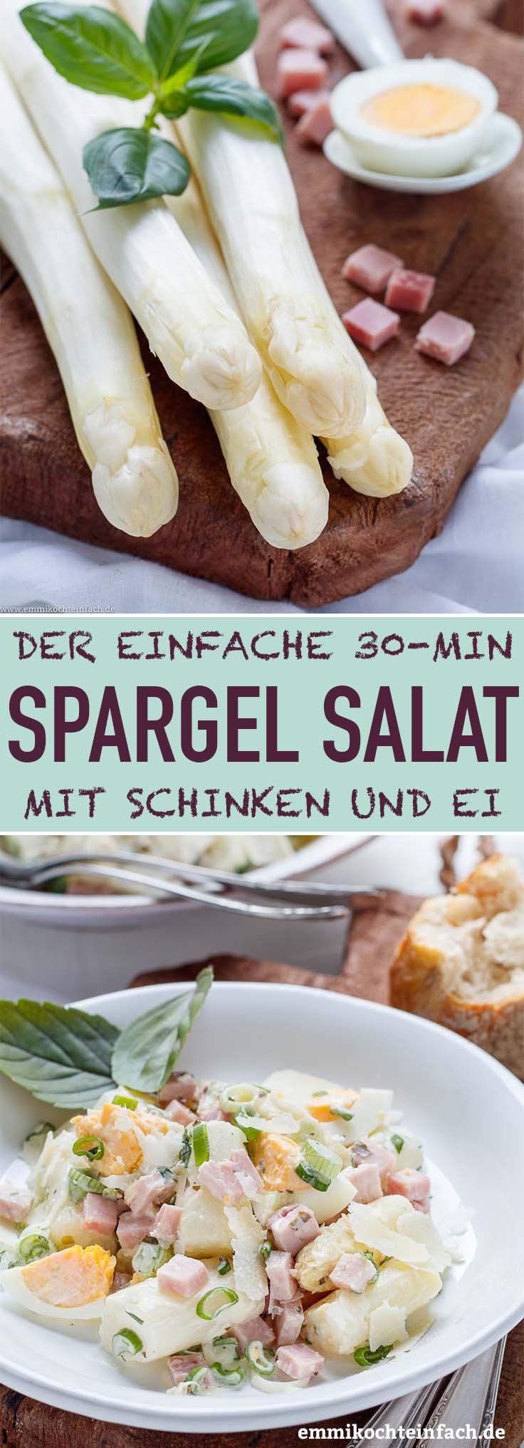 Leckerer Spargelsalat in nur 30 Minuten - www.emmikochteinfach.de