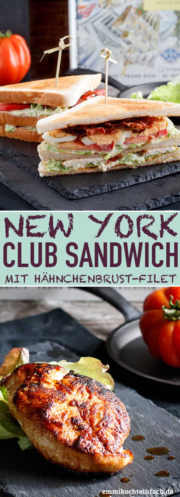 New York Club Sandwich - www.emmikochteinfach.de