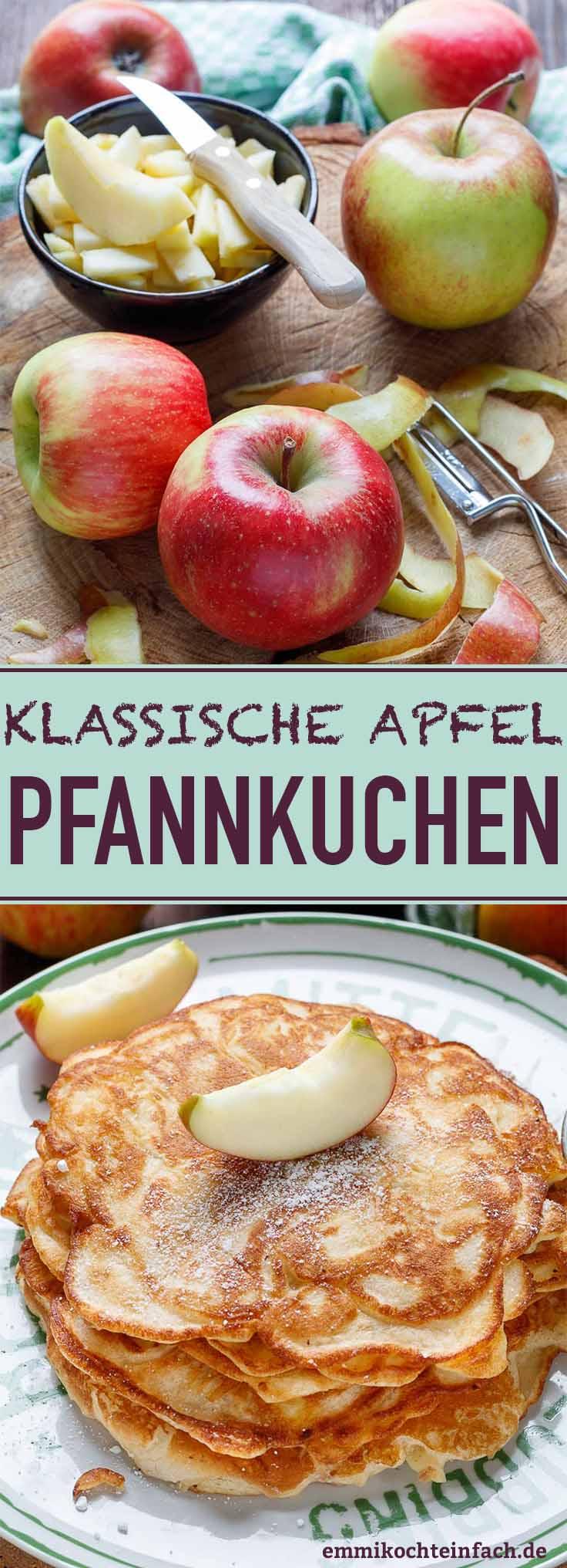 Apfelpfannkuchen klassisch - www.emmikochteinfach.de