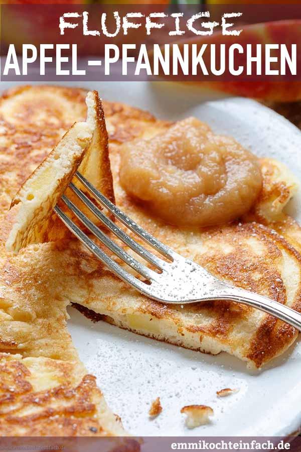 Der Pfannkuchen mit Apfel - www.emmikochteinfach.de