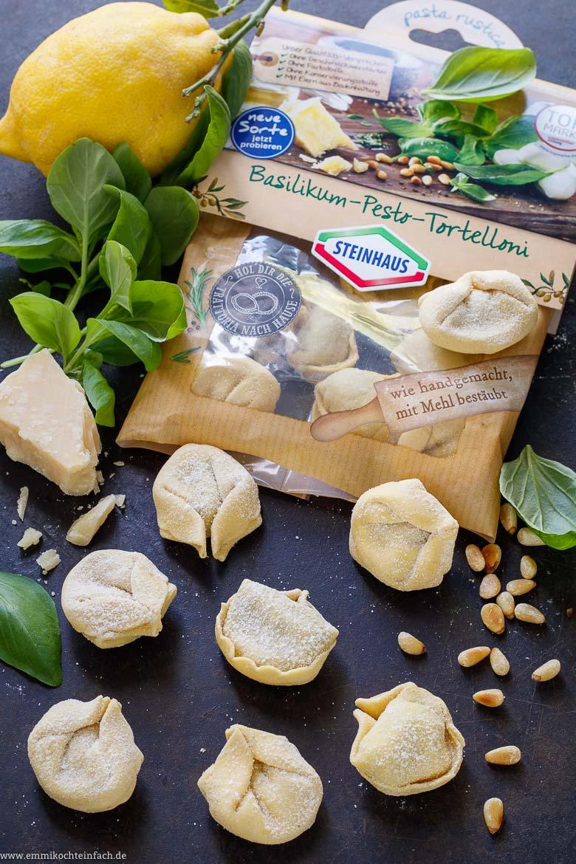 Die schnelle Pasta aus dem Kühlregal - www.emmikochteinfach.de