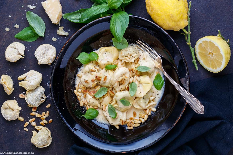 Die schnelle Pasta mit dem Zitronengeschmack - www.emmikochteinfach.de