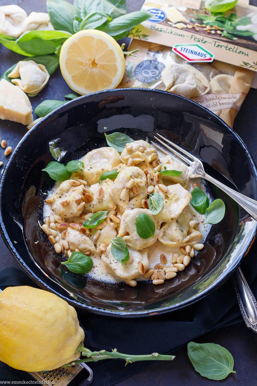 Die schnelle Pasta mit dem Zitronengeschmack aus dem Kühlregal - www.emmikochteinfach.de
